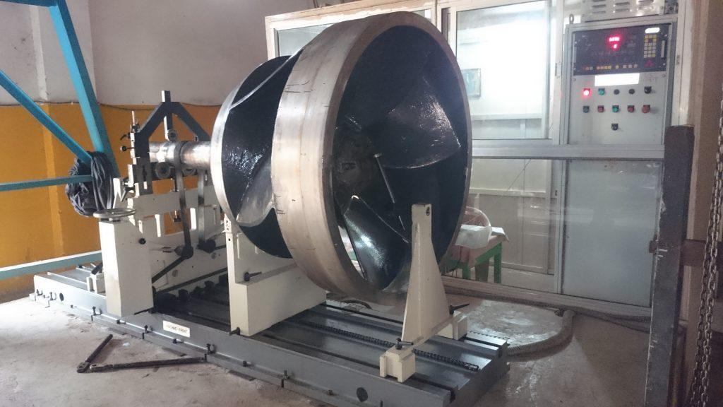 Turbojet Water Impeller Balancing