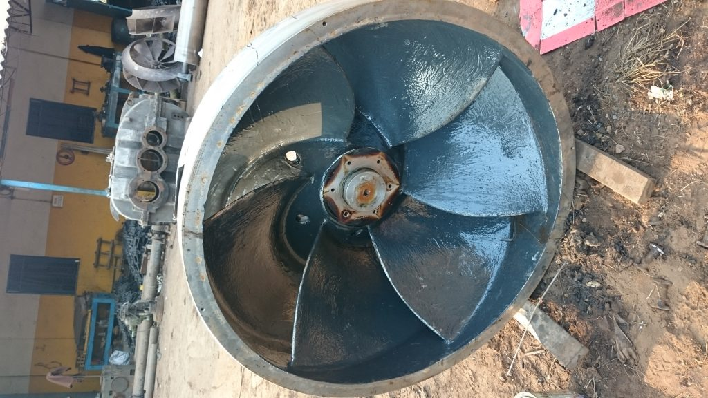 coating on water impellers