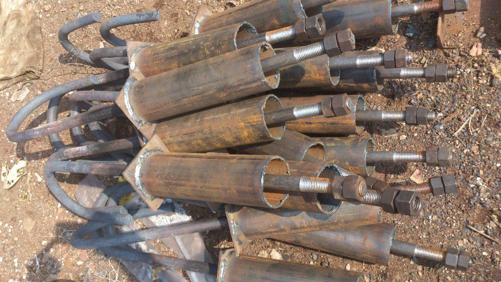 j type foundation bolts