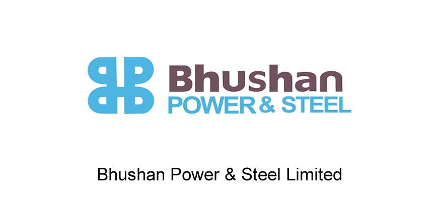 bhushan power steel logo
